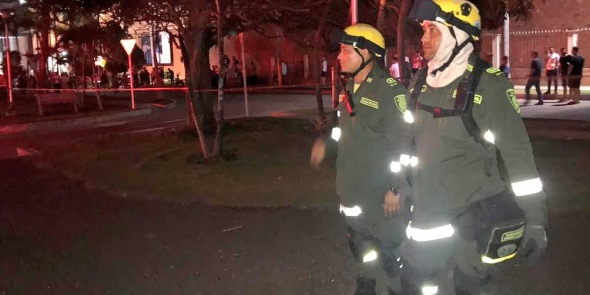 En video: Grave incendio consumió zona de juegos de exclusivo centro comercial en Barranquilla