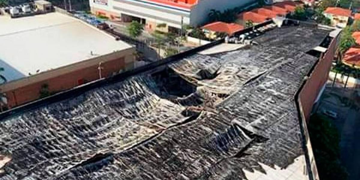 """Buenavista II permanecerá cerrado """"hasta nueva orden"""" tras incendio en Barranquilla"""