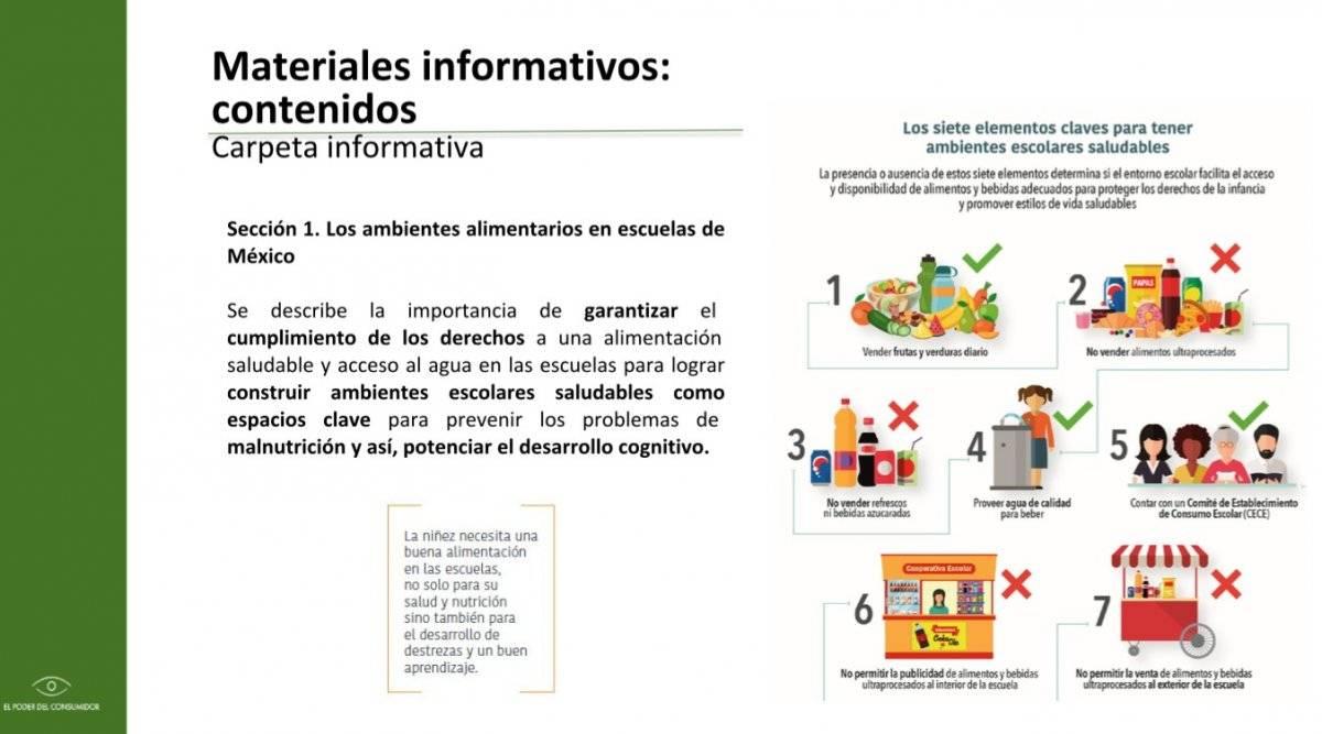 El material se pudo a disposición de escuelas a nivel nacional. Foto: Material de la campaña.