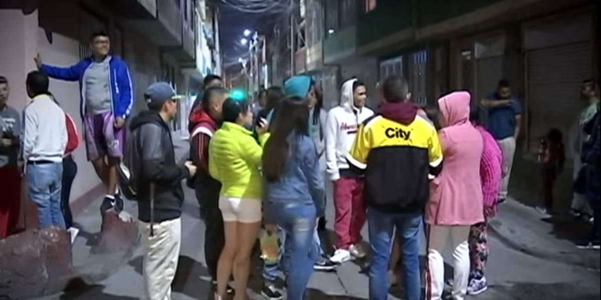 Casi linchan a hombre que habría abusado de dos niñas en Bogotá