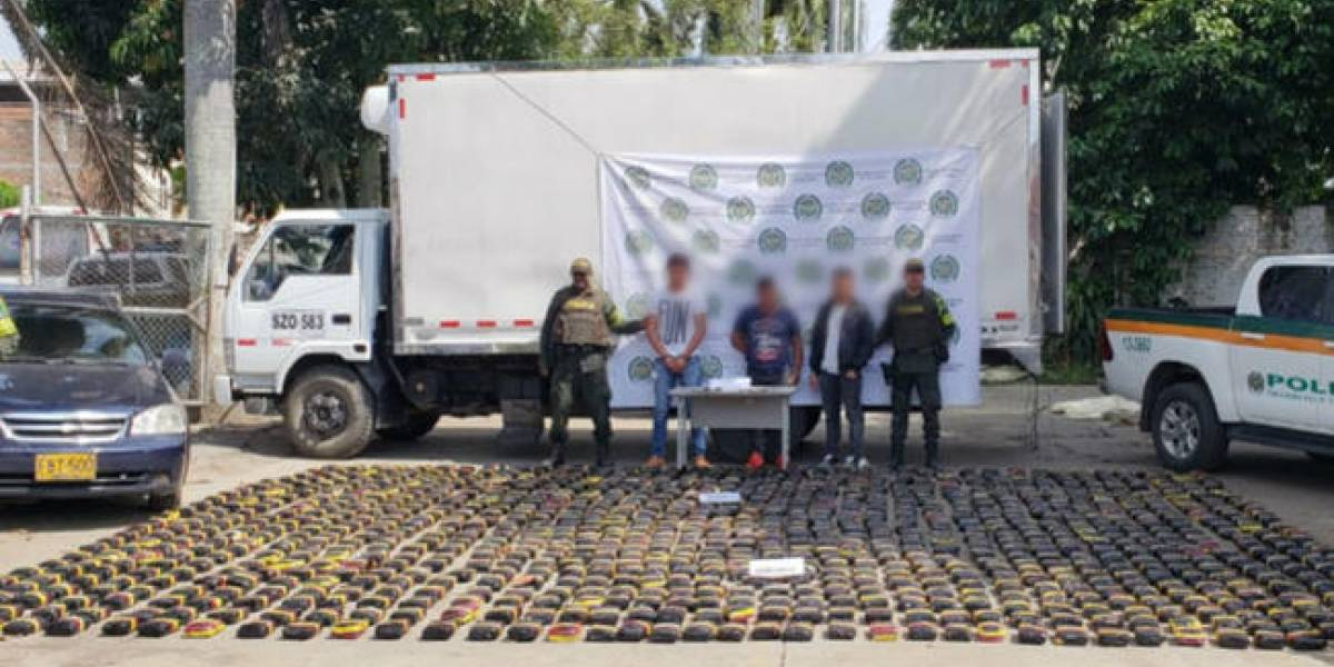 Trataron de sobornar a policías para que dejaran pasar una carga de marihuana