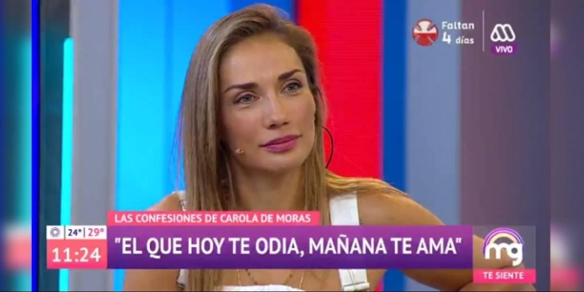 """La rabieta de Carola de Moras: aseguran que dejó botado al matinal """"Mucho Gusto"""" y no quiso entrar al set"""