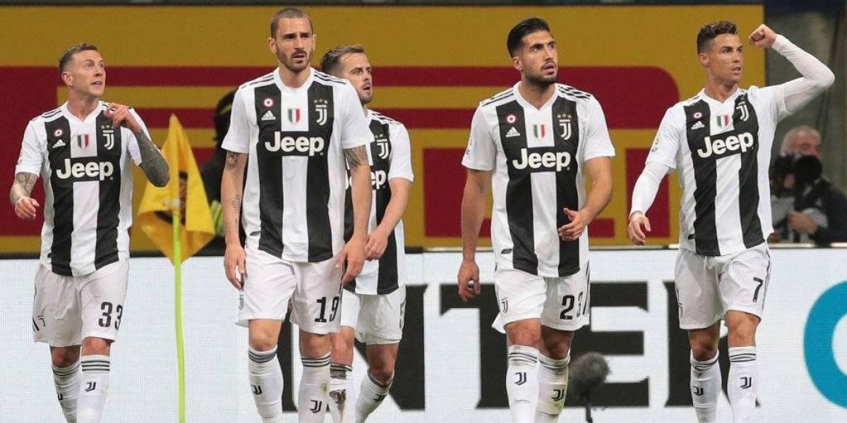 El nuevo uniforme de Juventus abandonó las tradicionales franjas