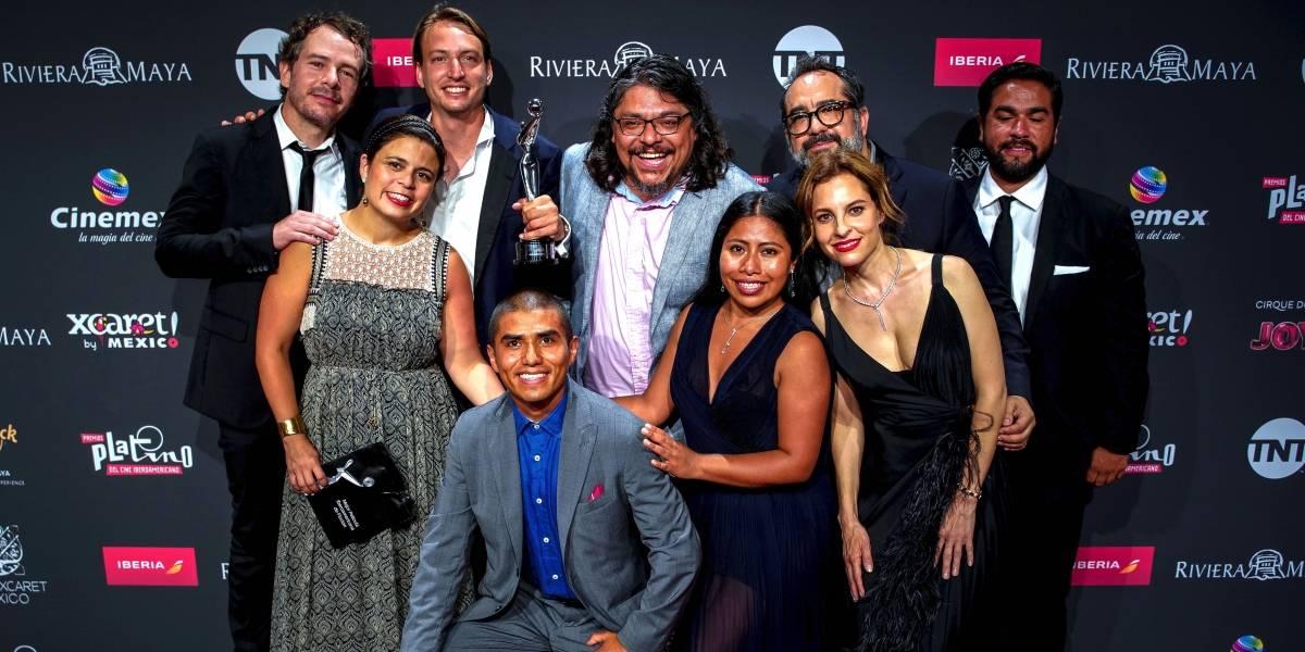 Continúa éxito de Roma; gana cinco premios Platino