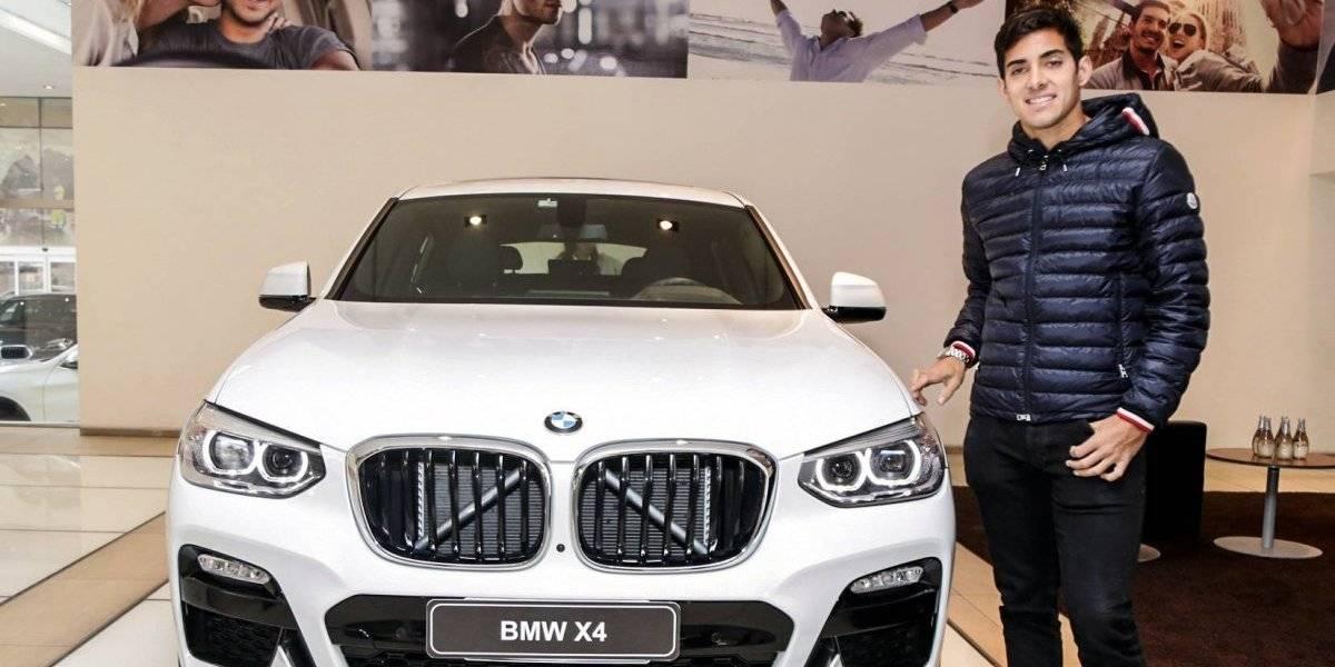 Luego de su triunfo en Münich, Garin también maneja un BMW en Chile