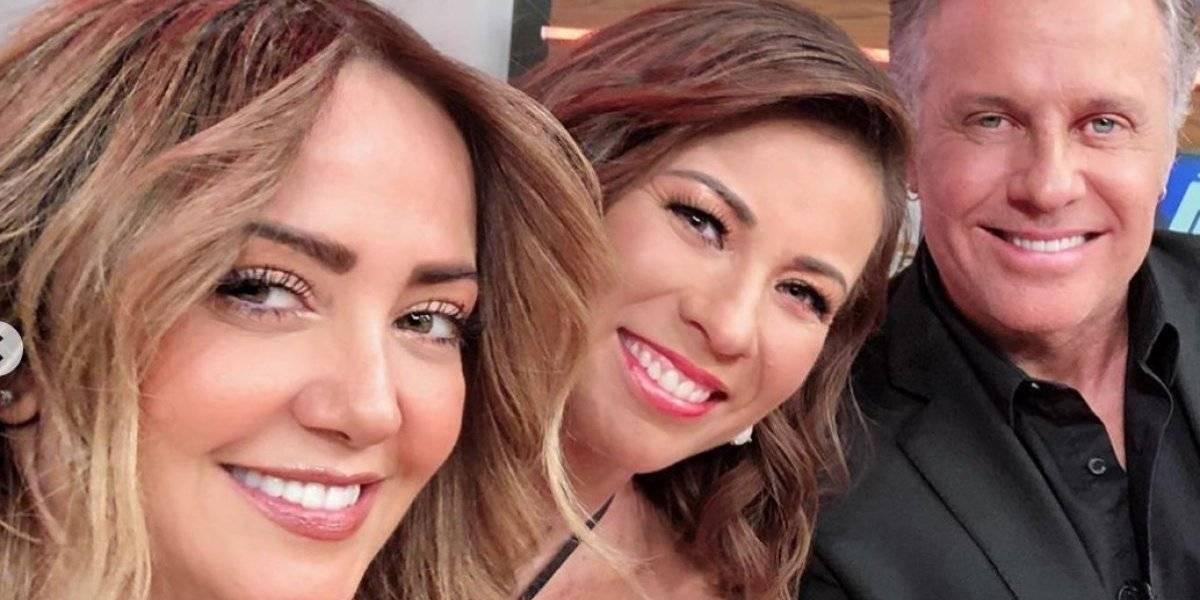 Visita de Ingrid Coronado a foro de Televisa abre sospechas