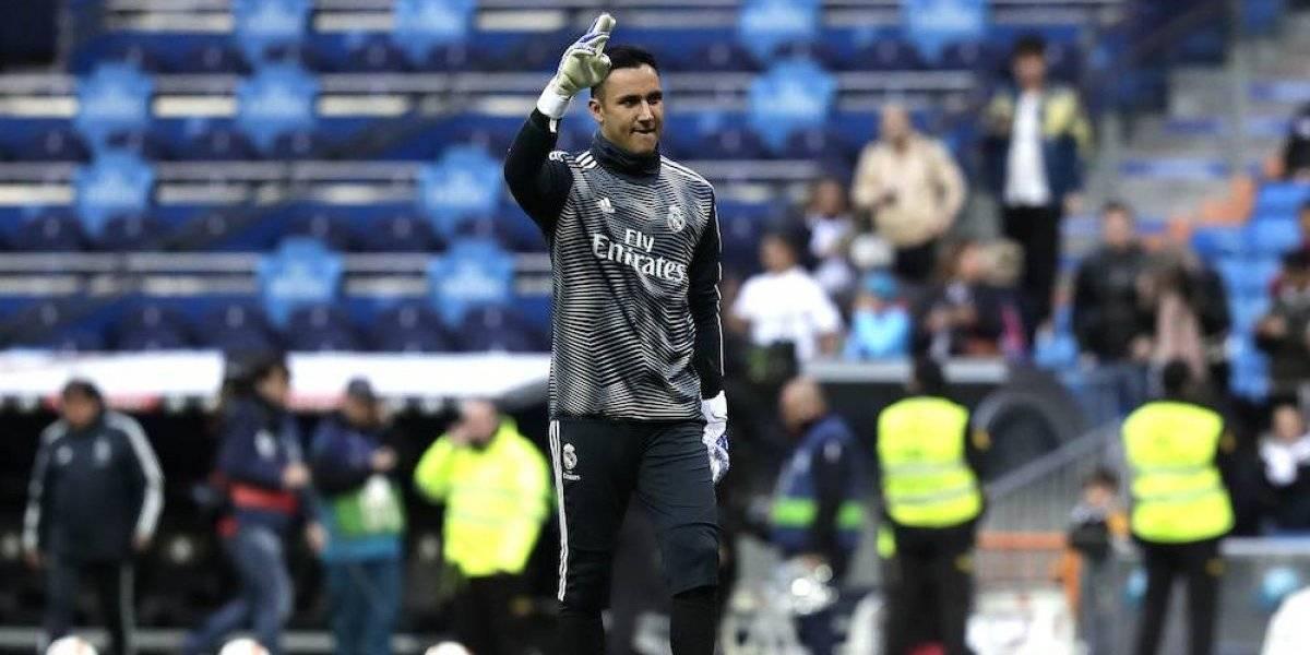 Keylor Navas ya no entra en planes con Real Madrid la próxima temporada