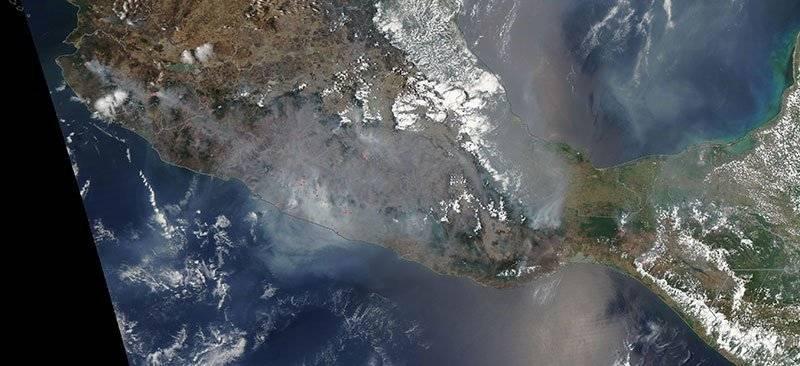 Incendios NASA
