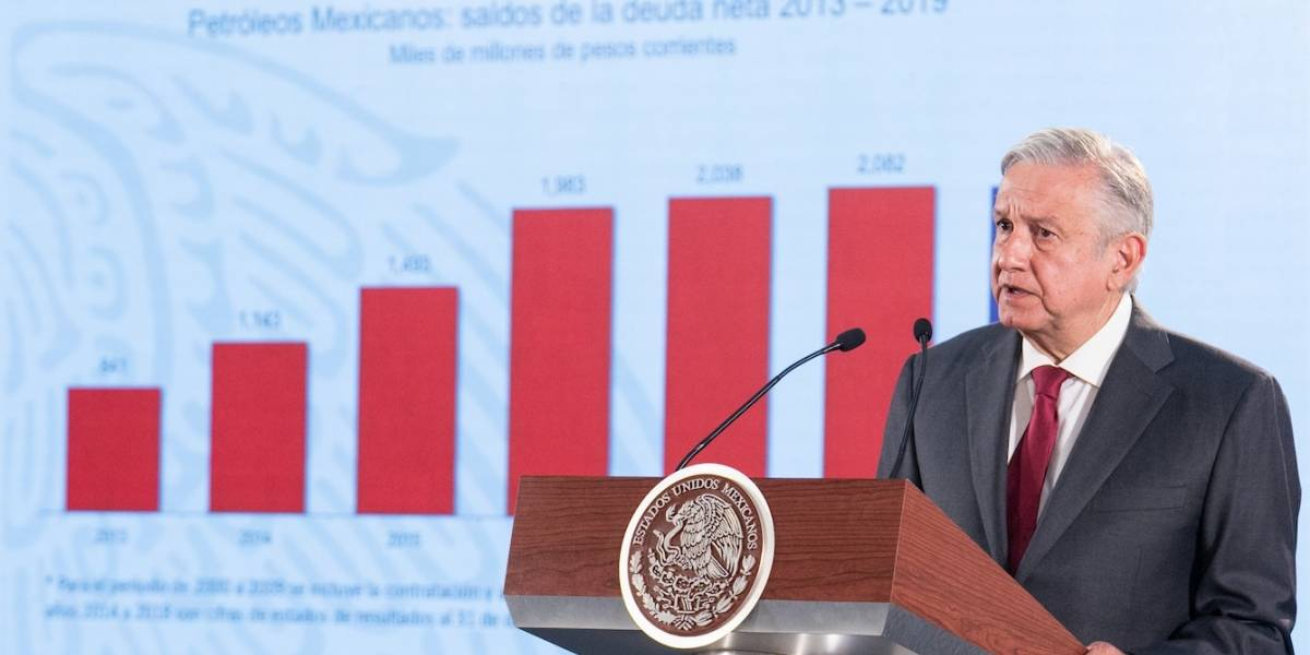 Pemex necesita 40 años para resolver crisis financiera