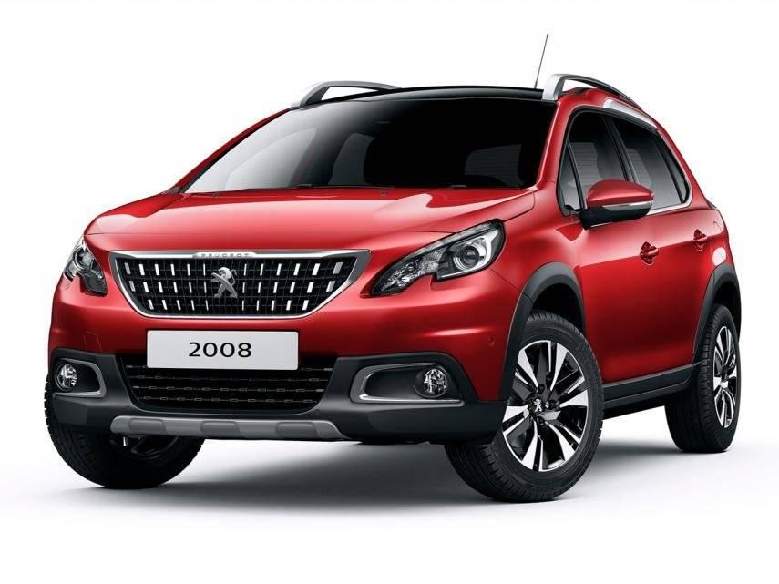 Versão 2017 europeia, carro que deu base para o Pegeout 2008 2020 brasileiro. Reprodução/ Divulgação