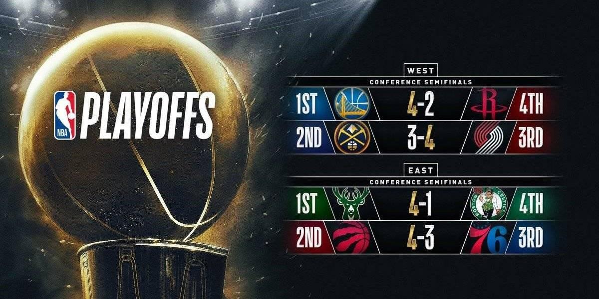 Golden State-Portland y Milwaukee-Toronto: Cuándo se juegan y quién transmite las finales de conferencia de la NBA