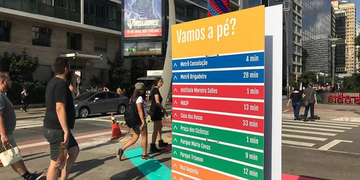 Reforma torna praça do Ciclista mais colorida