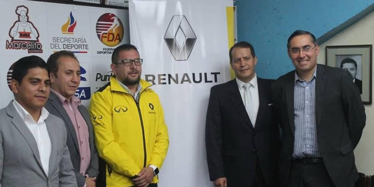 Renault es auspiciante oficial de Campeonato Juvenil de Judo