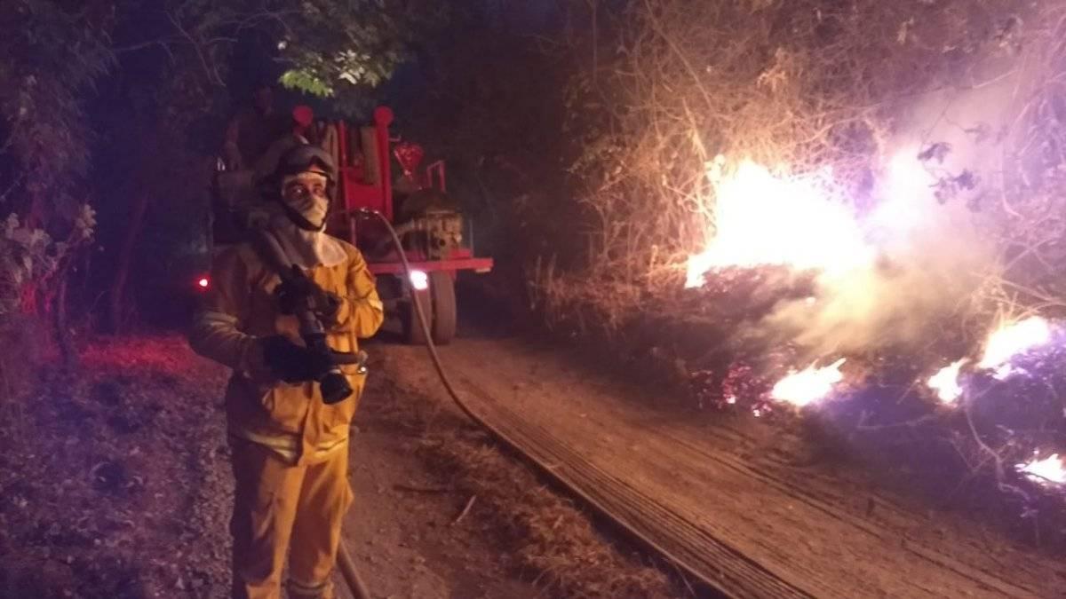 Logran sofocar el incendio en el Bosque de La Primavera