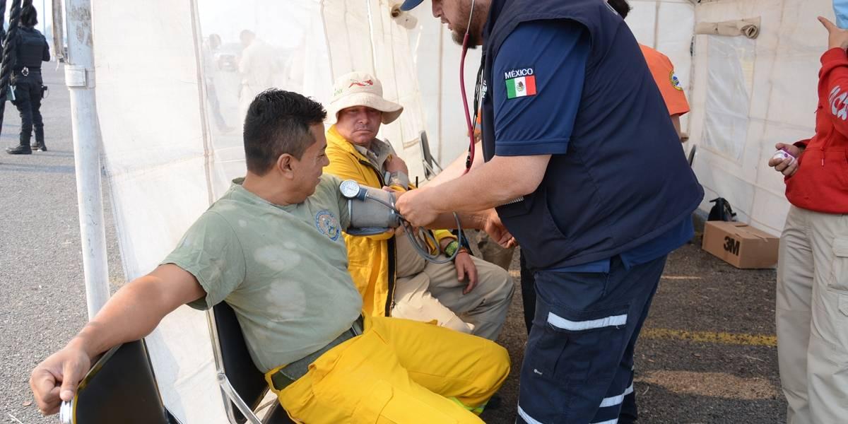 Revientan incendios forestales la salud de brigadistas en Jalisco