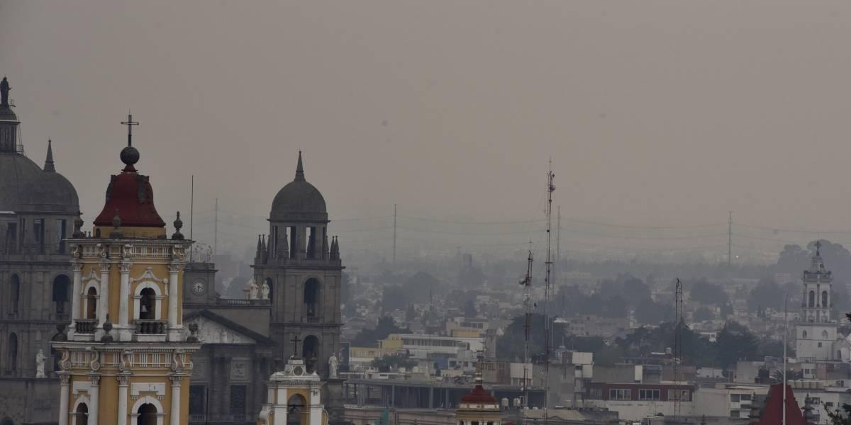 Por quinto día, persiste muy mala calidad del aire en Valle de México