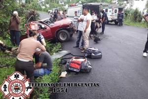 accidente en El Tumbador, San Marcos