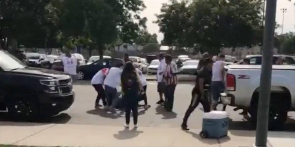 Fan del América pierde ojo por golpiza de aficionados de Chivas