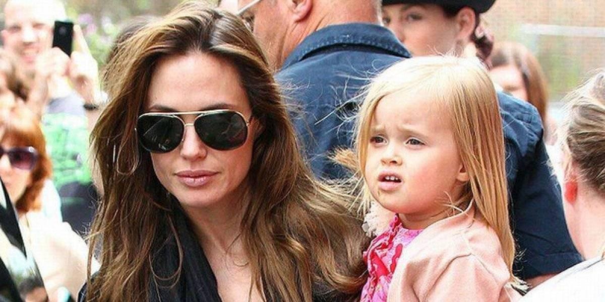 Critican look varonil de Vivienne, la otra hija de Angelina Jolie