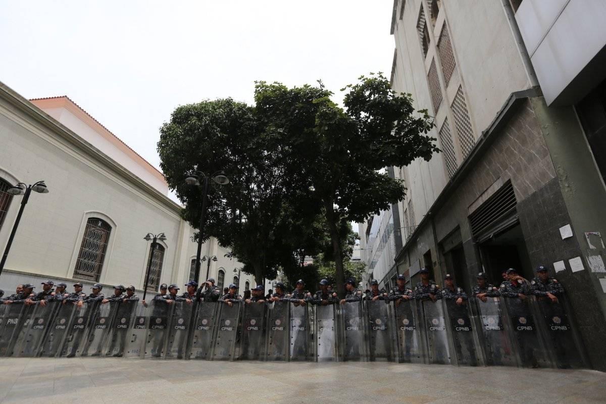 Tensión en el Parlamento en Venezuela Foto: AP