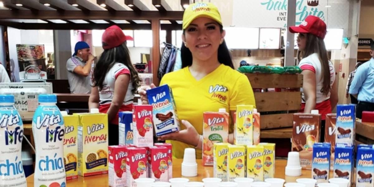 """Pasteurizadora Quito se presentó en la Feria """"ViveFest regreso a clases"""""""
