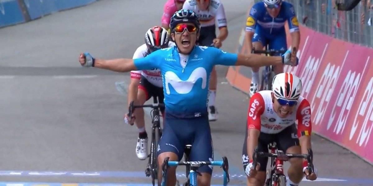 Richard Carapaz conquistó la cuarta etapa del Giro de Italia