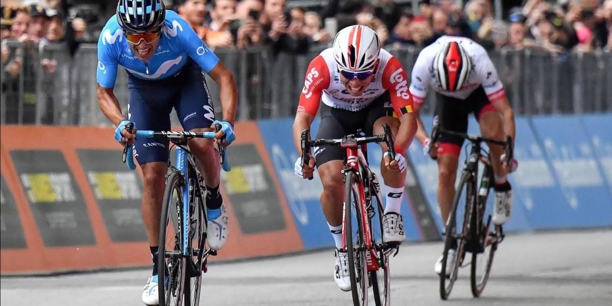 El UAE aparta del Giro al colombiano Juan Molano por