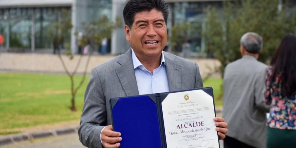 Recorrido cultural acompañará la posesión de Jorge Yunda en Quito