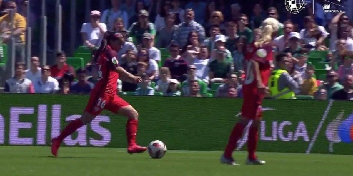 Karen Araya es candidata al mejor gol de la temporada en la Liga española femenina