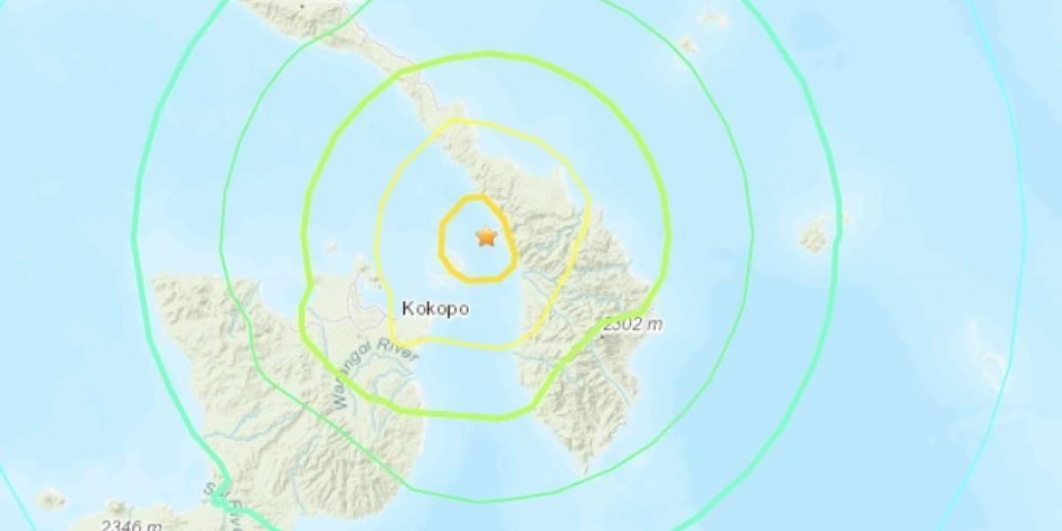 Terremoto de 7,5en Papúa Nueva Guinea, decretan alerta de tsunami