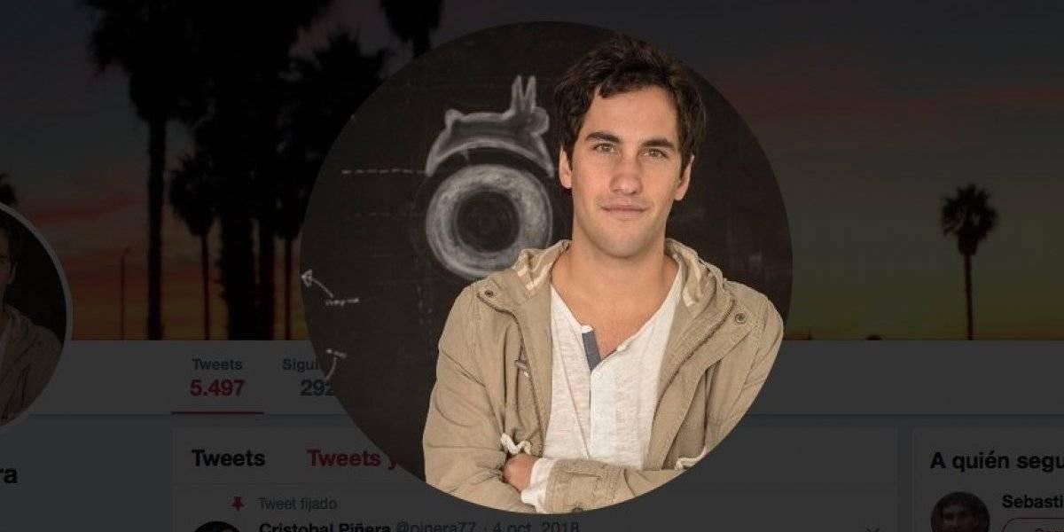 Piñera Morel dice no tener vínculos con Hopin: Tuiteros le encaran que tiene el logo de la empresa en la foto de perfil