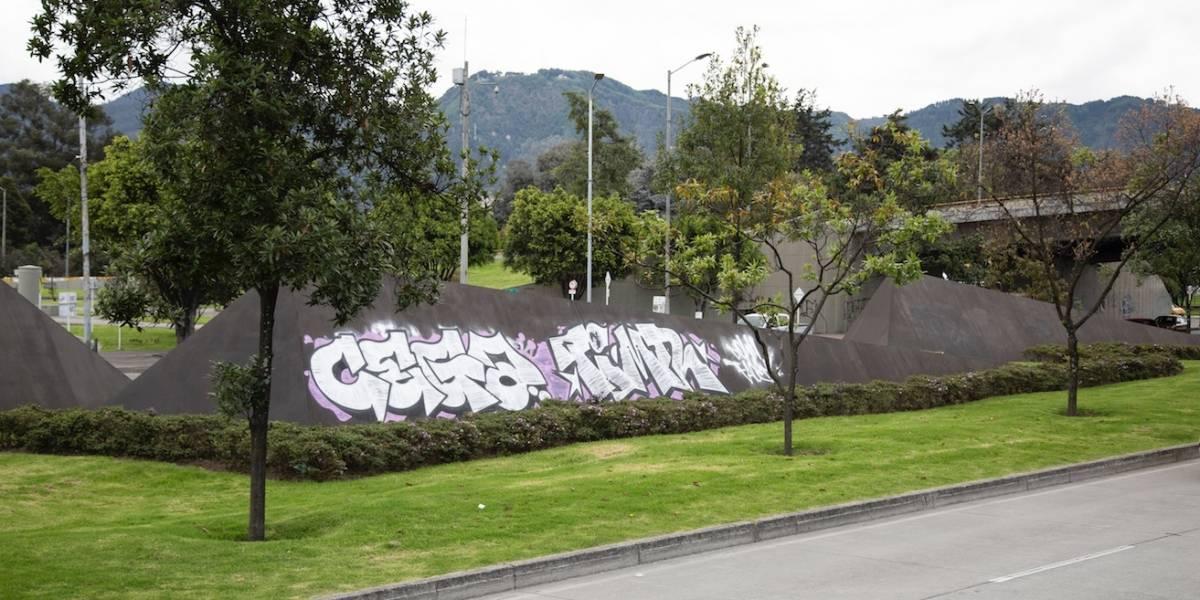 La escultura que volvió a ser vandalizada en Bogotá luego de su revitalización
