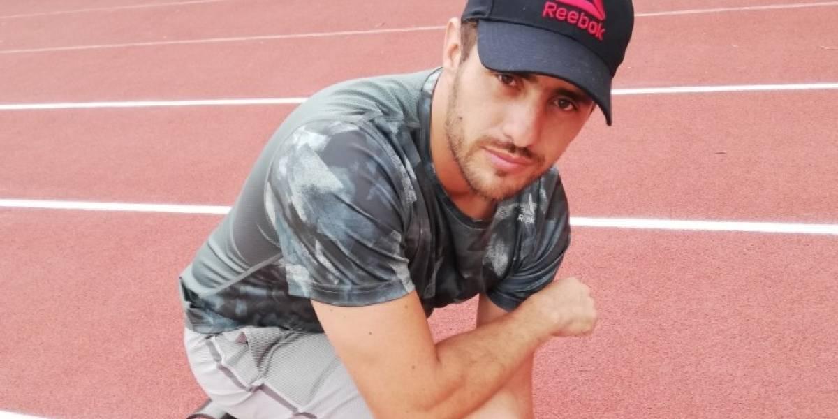 Reebok apoya a Pablo Vallejo rumbo al Paranacional de Triatlón