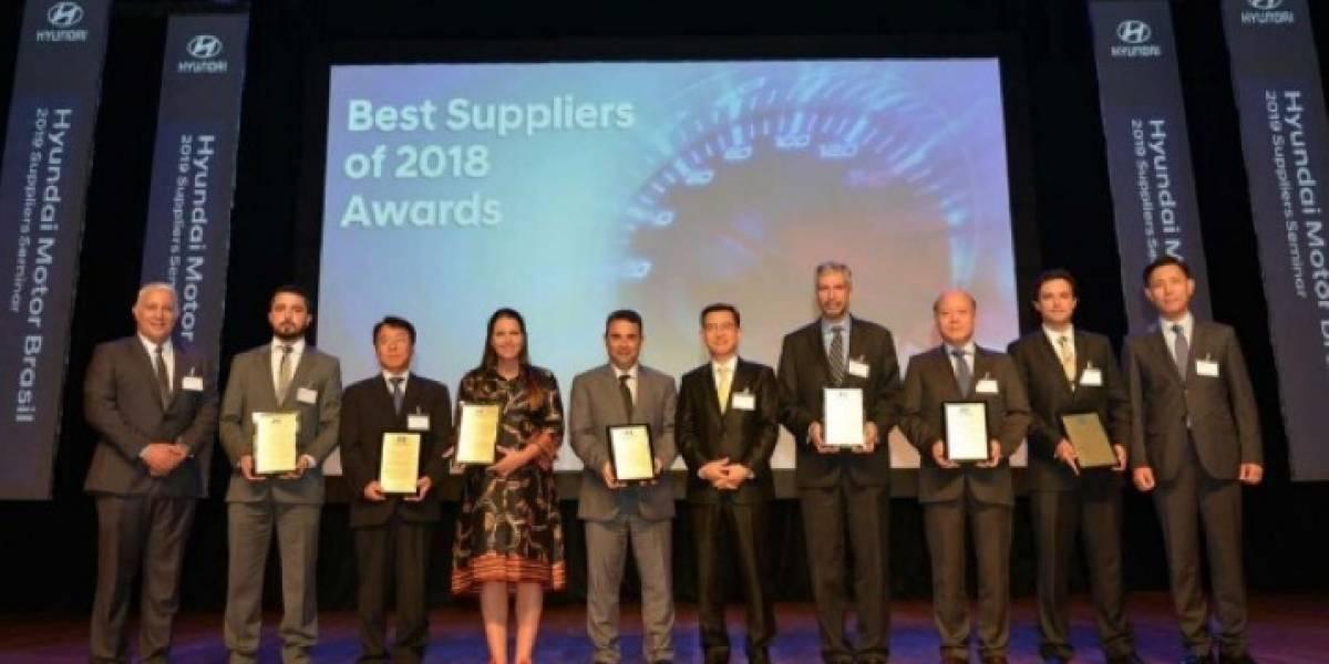 Goodyear recibe premio como proveedor de neumáticos del año para Hyundai