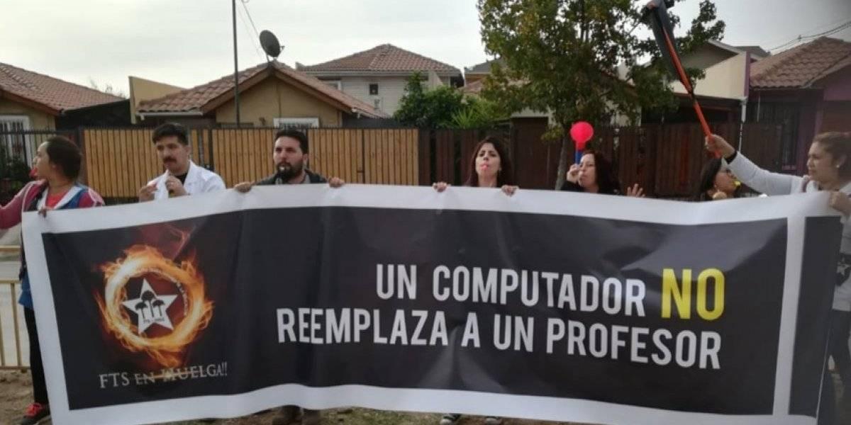 5000 estudiantes de Quillota, La Florida, Puente Alto y Valparaíso afectados por retraso en negociación