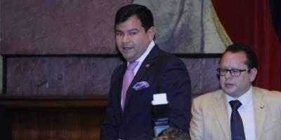 César Litardo, nuevo presidente de la Asamblea