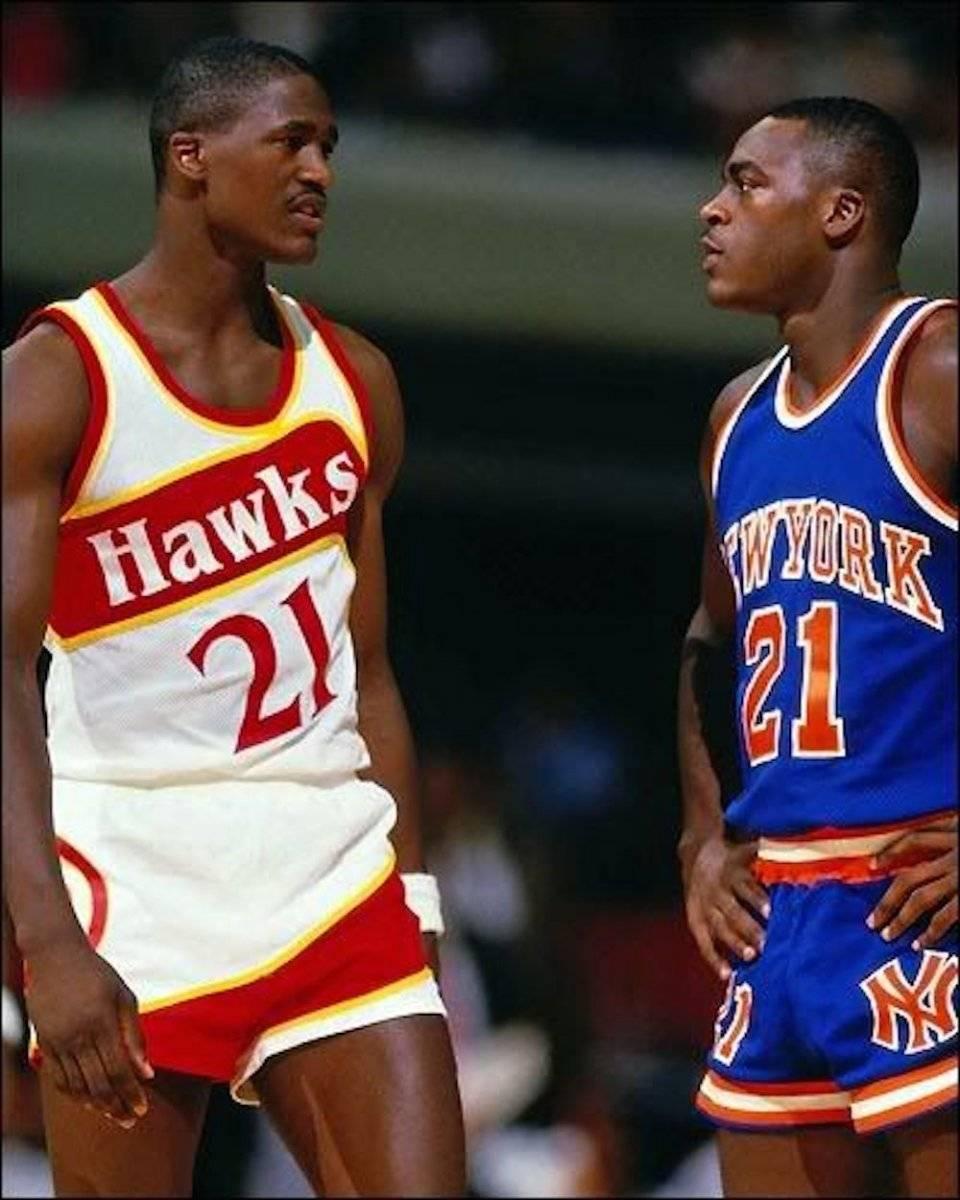 """Dominique y Gerald Wilkins destacaron con sus respectivos equipos en los 80 y 90. """"Nique"""" tuvo sus mejores momentos con los Atlanta Hawks y Gerald vivió buenos momentos con Cavs y Knicks. / Archivo"""