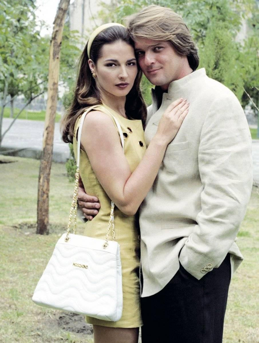 Eugenia Cauduro y René Strickler