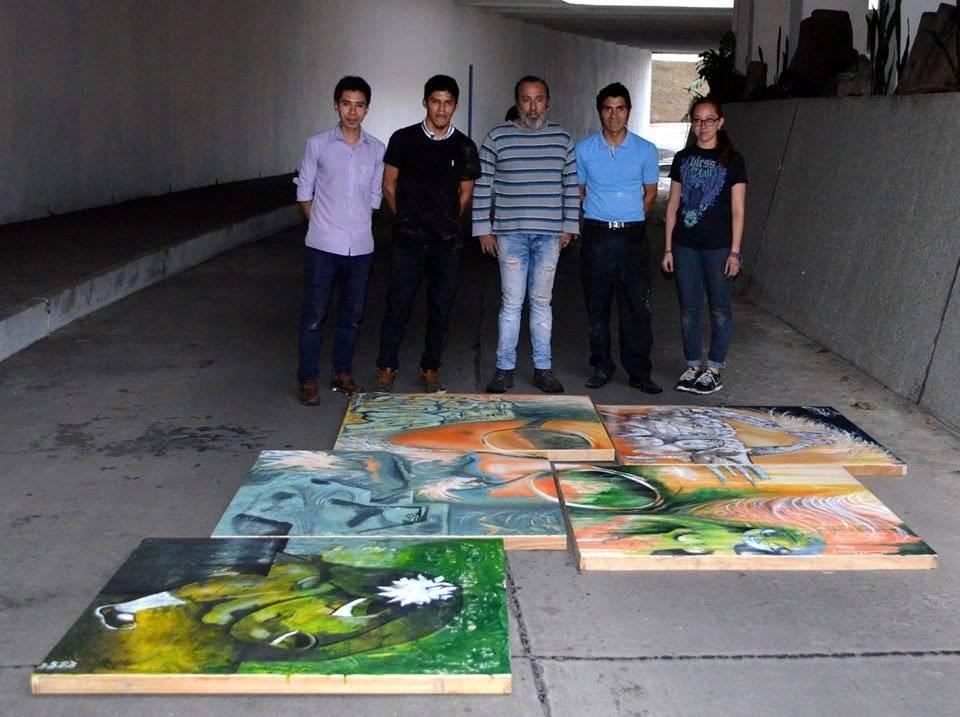 """Obra """"Fragmentos de Recinos"""" por Colectivo Chucho Callejero"""