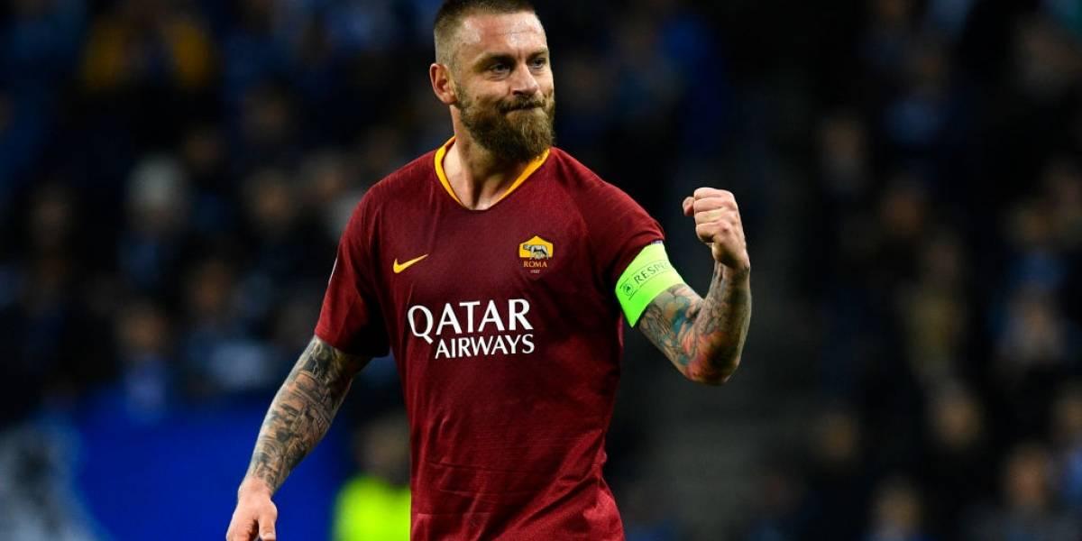 Daniele Rossi dejará la Roma a final de temporada