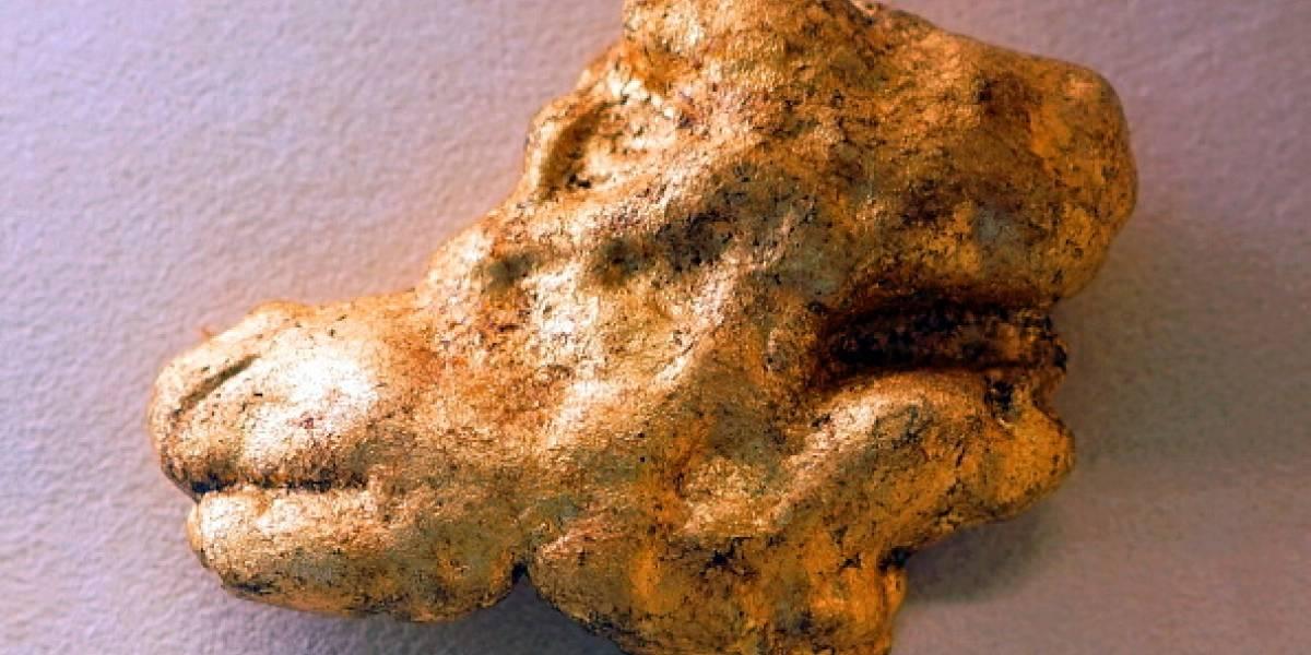 Familia encuentra lingote de oro valorado en 25 mil dólares