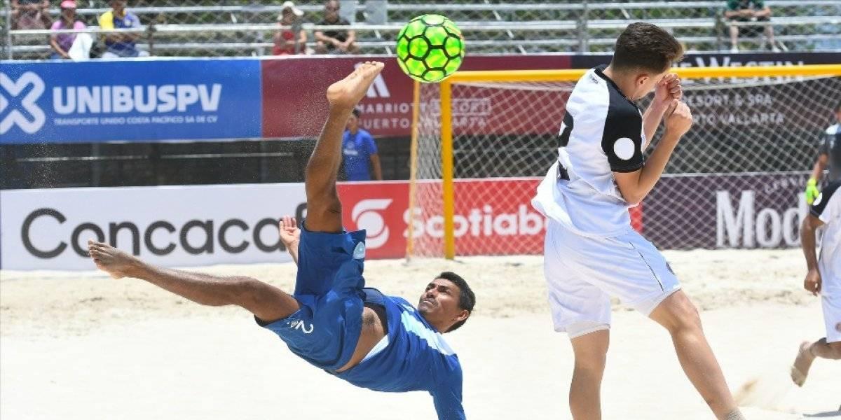 Guatemala derrota a Costa Rica en el Premundial de futbol playa