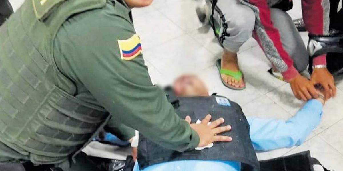 Indignación por robo de reloj a vigilante mientras le salvaban la vida tras ser baleado
