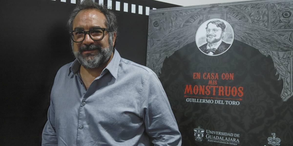 Eugenio Caballero define a Guillermo del Toro como un 'monstruo creativo'