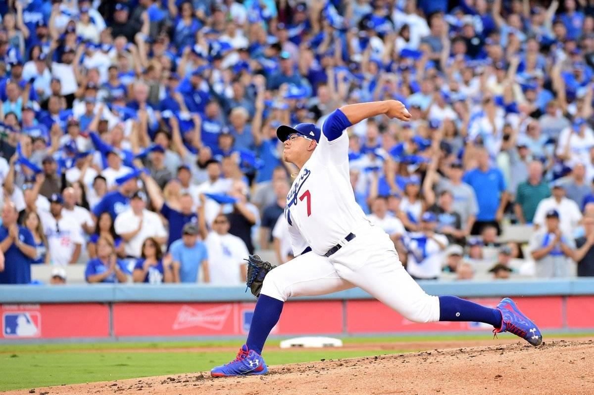 Urías ha jugado con Los Dodgers desde los 19 años  GETTY IMAGES