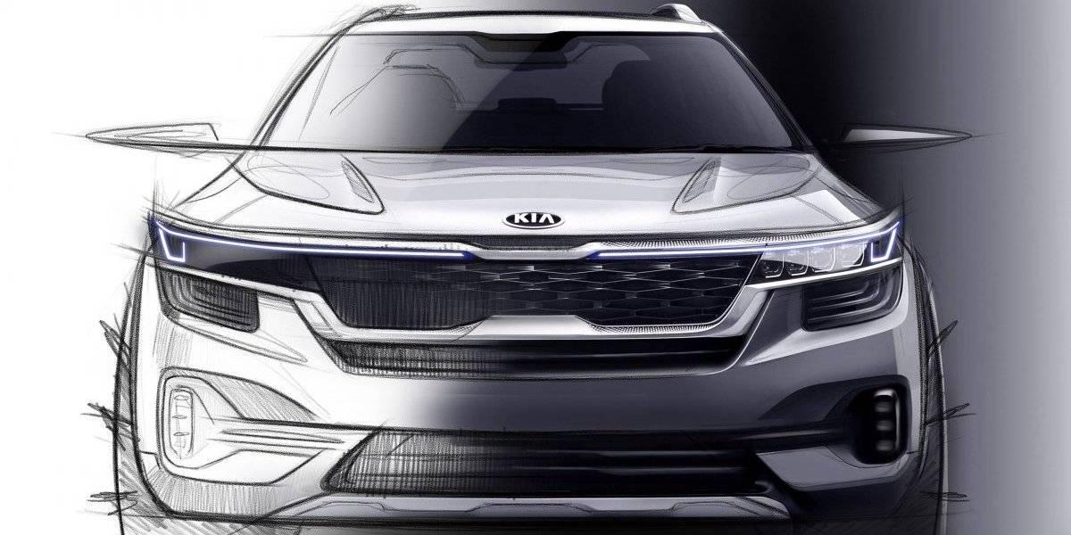 El nuevo SUV compacto de Kia ya ofrece sus primeras imágenes