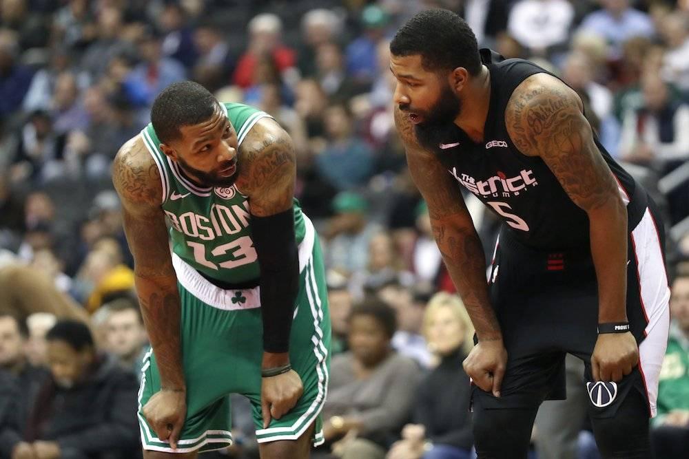 Marcus y Markieff Morris son jugadores actuales de Celtics y Thunder, respectivamente. / Getty Images