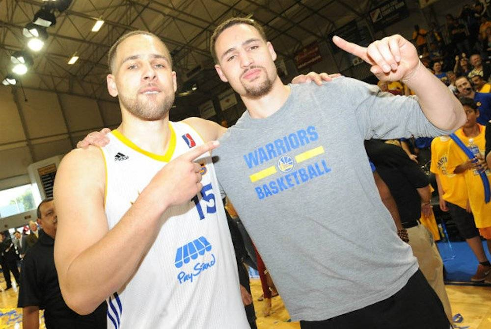 El hermano de Klay Thompson, Mychel, juega en la G-League con el Santa Cruz Warriors. / Archivo