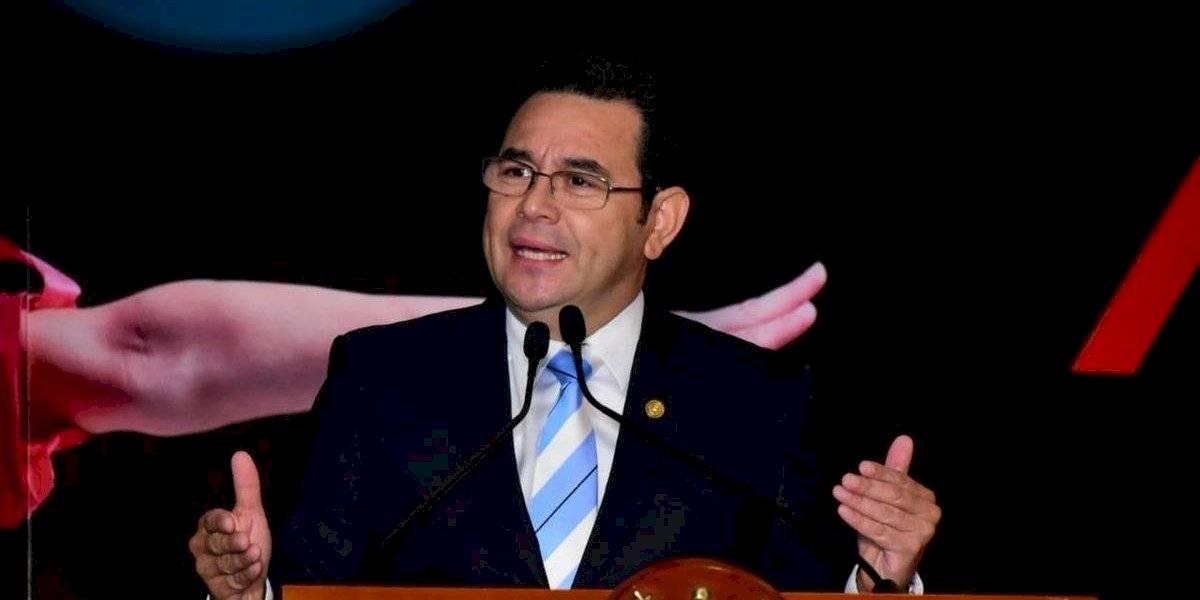 """Presidente Morales: Negociaciones con EE. UU. evitaron sanciones """"drásticas"""" para Guatemala"""