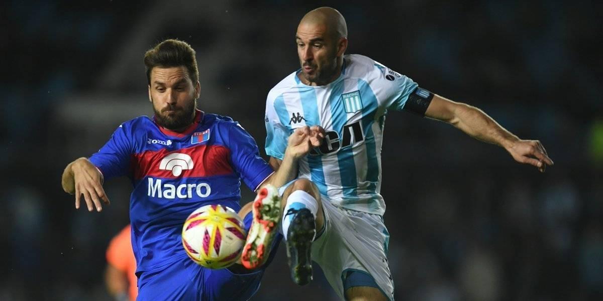 Tigre de Montillo dio la gran sorpresa y eliminó al Racing de los chilenos en la Copa Superliga